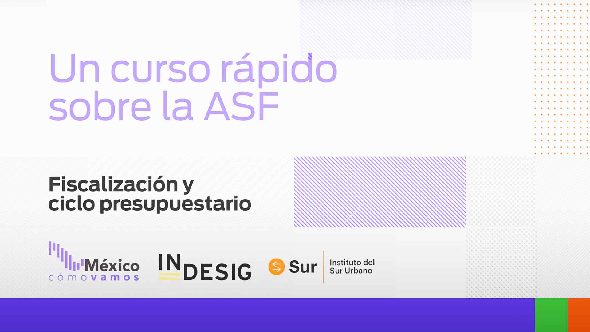 Un curso rápido sobre ASF