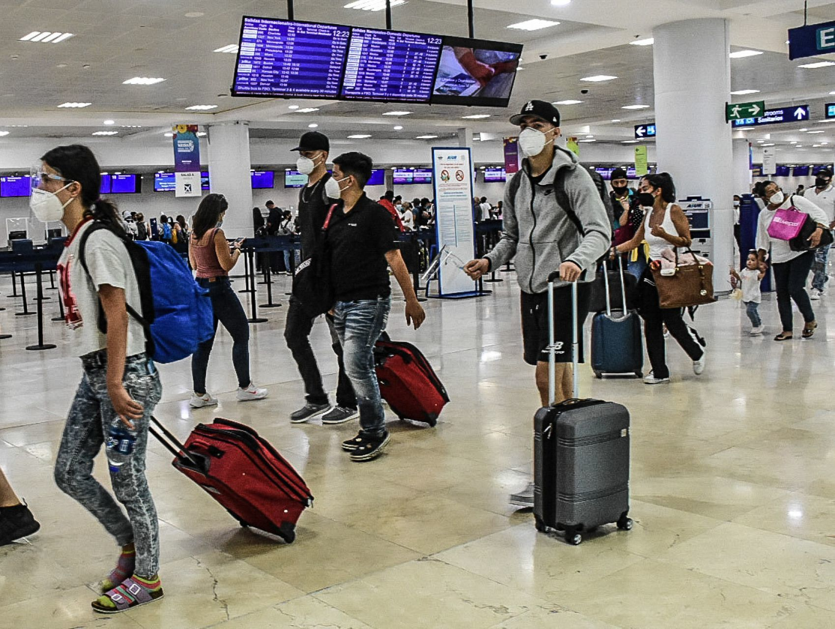 #DatoDeLaSemana: La recuperación turbulenta del sector turístico en México